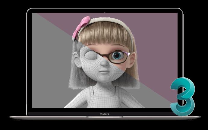 انیمیشن های ساخته شده در تری دی مکس