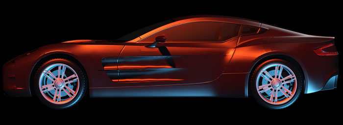 طراحی اتومبیل با تری دی مکس