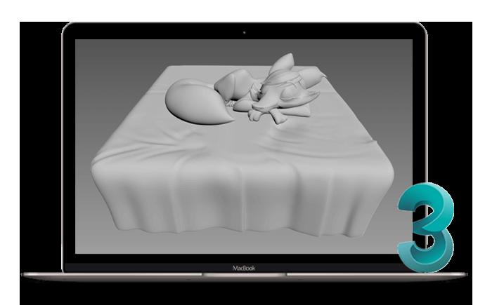 نرم افزار تری دی مکس در انیمیشن سازی