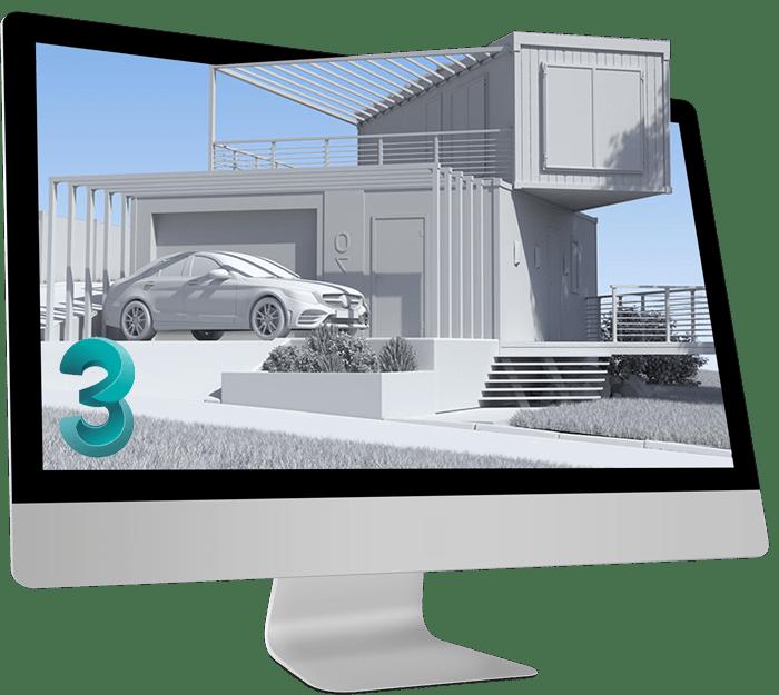 ابزار های مهم نرم افزار تری دی مکس برای پروژه های معماری