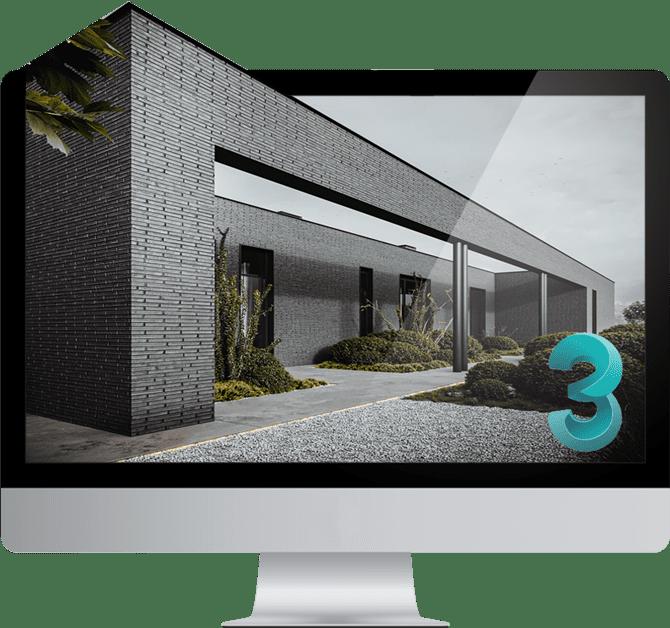 نرم افزار تری دی مکس در حوزه طراحی داخلی و معماری