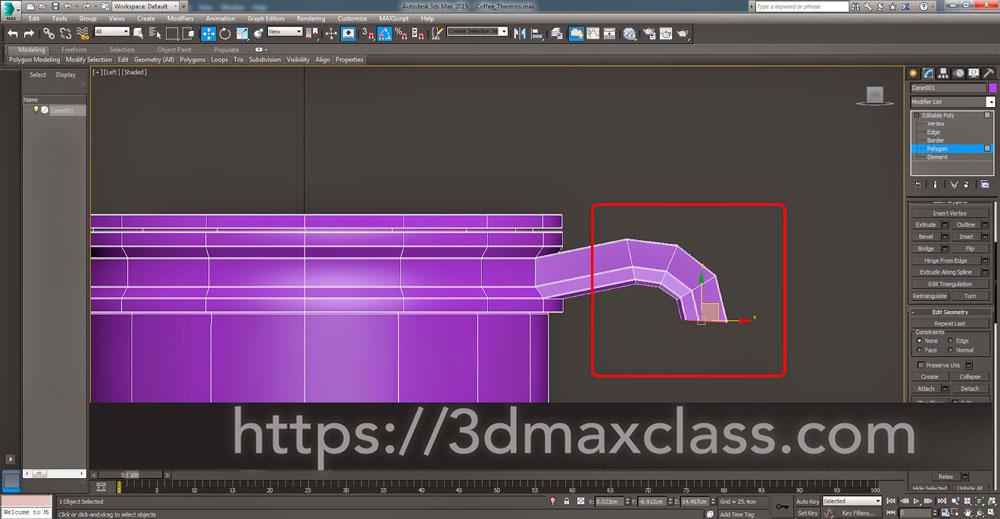3dmax Step55 - آموزش مدل سازی ماگ قهوه در تری دی مکس