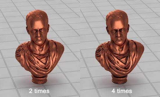 Bronze Silver Material Vray step 10 - آموزش ساخت انواع متریال نقره ؛ برنز و فویل قلعی در vray