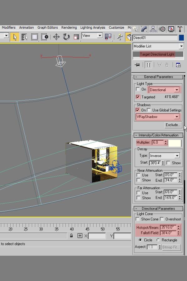 3dmax interior lighting rendering11 - دست یابی به نتایج واقع بینانه برای روشنایی داخلی و رندر کردن با استفاده از 3Ds Max و V-Ray