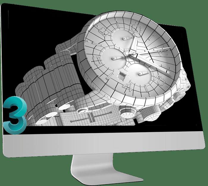 متریال و بافت در نرم افزار تری دی مکس