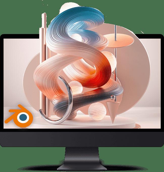بلندر یک برنامه گرافیکی کامپیوتری