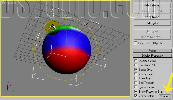 UF Infinity 3dmax 0010 4 - آموزش تری دی مکس رایگان 10