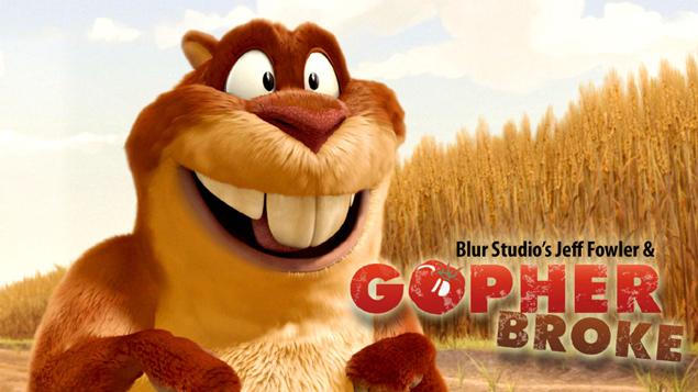 gopher broke 2005 1 - تری دی مکس چیست ؟ تاریخچه 3D MAX