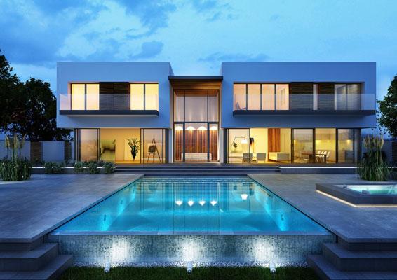 3dmax villa 1 - 7 نکته کاربردی تری دی مکس در معماری که از آن اطلاع نداشتید