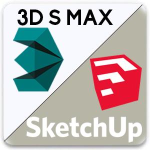 sketchup 2 - اهمیت آموزش تری دی مکس در طراحی داخلی