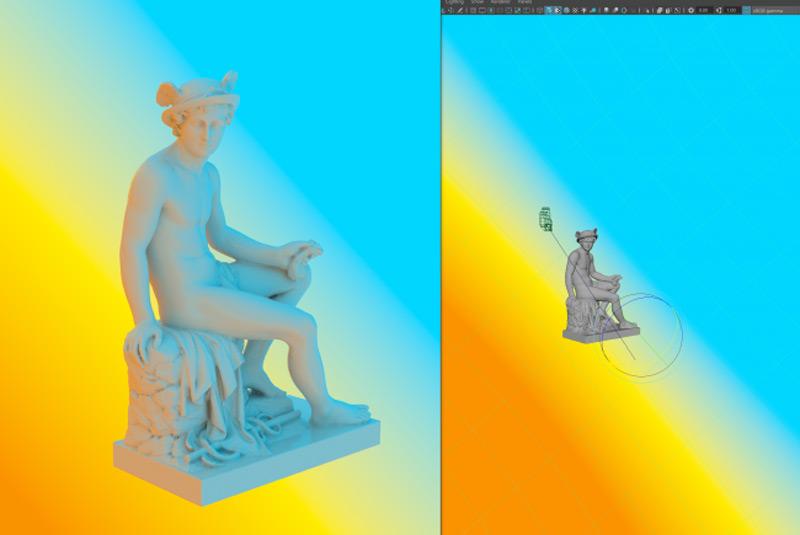 dome light colour - 6 مرحله ی آسان برای بهبود نورپردازی در v-ray