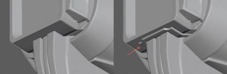 step 11 hard surface - مدلسازی سطوح سخت در 3ds max