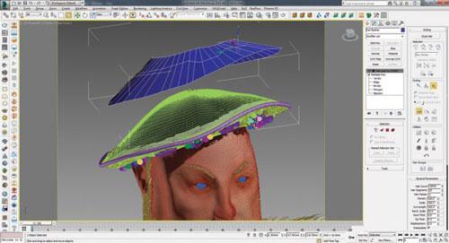 step 1 3d hair - ساخت مو و کرک سه بعدی و واقع گرایانه در 3ds Max و V-Ray