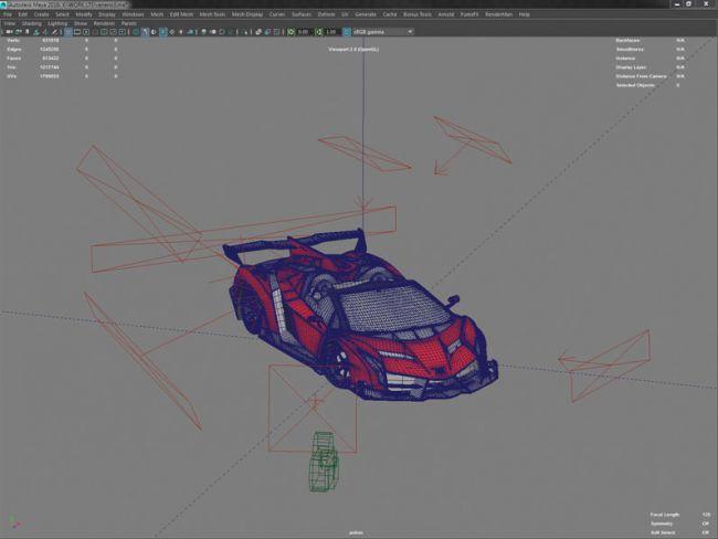 step 1 lights - نحوه ی طراحی ماشین های مسابقه ای واقع گرایانه