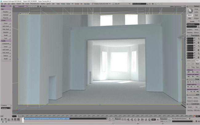 step 5 create room - نحوه ی ساخت صحنه ی واقع گرایانه از اتاق خواب