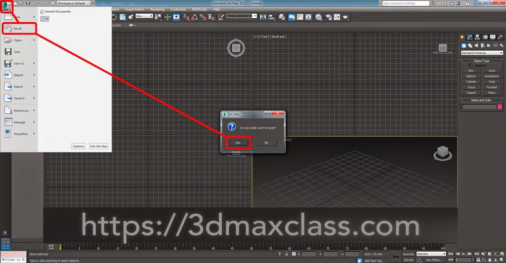 3dmax 1 2 1 - آموزش مدل سازی ماگ قهوه در تری دی مکس