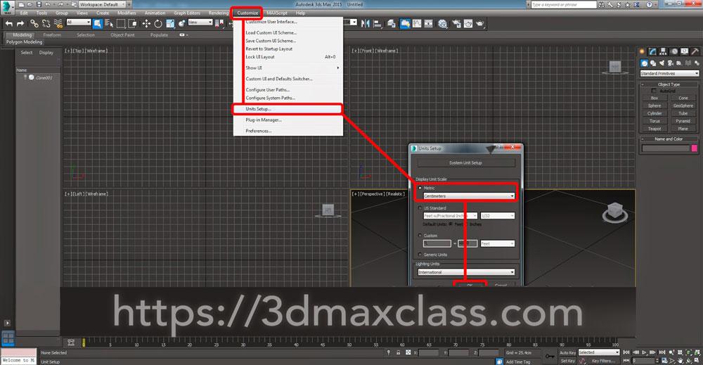 3dmax 1 3 1 - آموزش مدل سازی ماگ قهوه در تری دی مکس