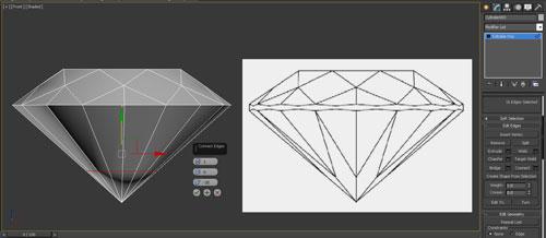 3dmax render diamonds step 12 - آموزش مدل سازی و رندر الماس
