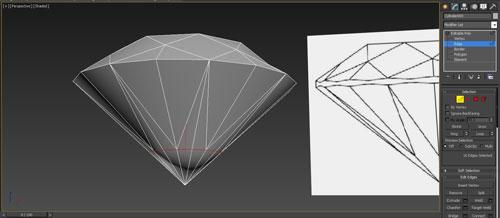 3dmax render diamonds step 15 - آموزش مدل سازی و رندر الماس