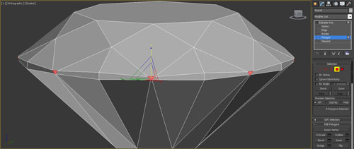 3dmax render diamonds step 20 - آموزش مدل سازی و رندر الماس