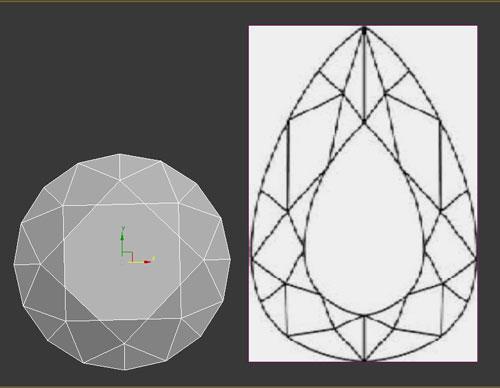 3dmax render diamonds step 22 - آموزش مدل سازی و رندر الماس