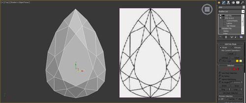 3dmax render diamonds step 24 - آموزش مدل سازی و رندر الماس