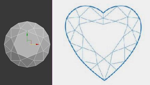 3dmax render diamonds step 26 - آموزش مدل سازی و رندر الماس
