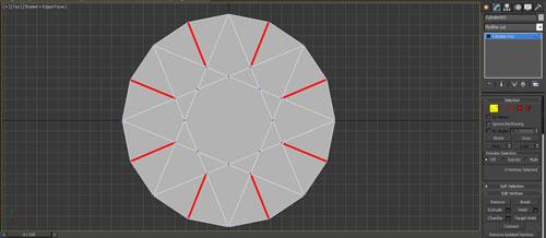 3dmax render diamonds step 5 - آموزش مدل سازی و رندر الماس