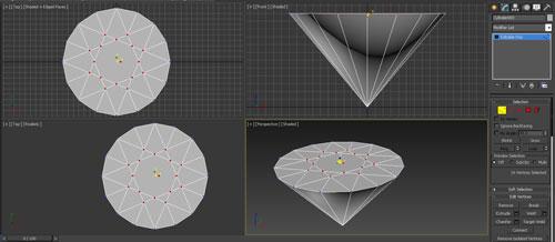3dmax render diamonds step 6 - آموزش مدل سازی و رندر الماس