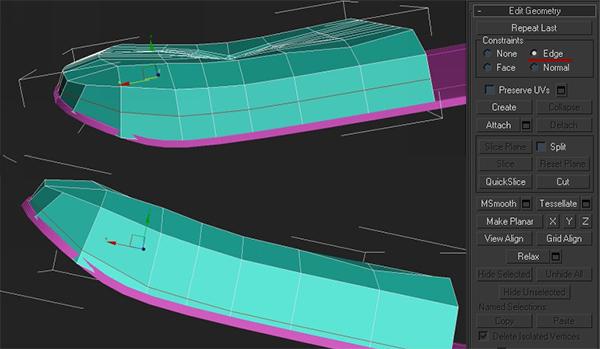 21 3dmax - آموزش مدلسازی با تری دی مکس ، مدلسازی صندلی ایمز لانژ