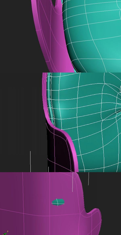 29 3dmax - آموزش مدلسازی با تری دی مکس ، مدلسازی صندلی ایمز لانژ