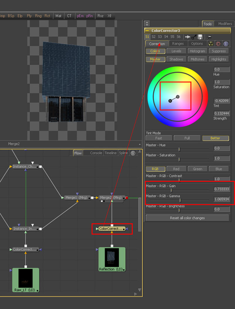 3dmax fusion post workflow32 - نگاهی جامع از 3dmax گرفته تا Fusion Post Workflow