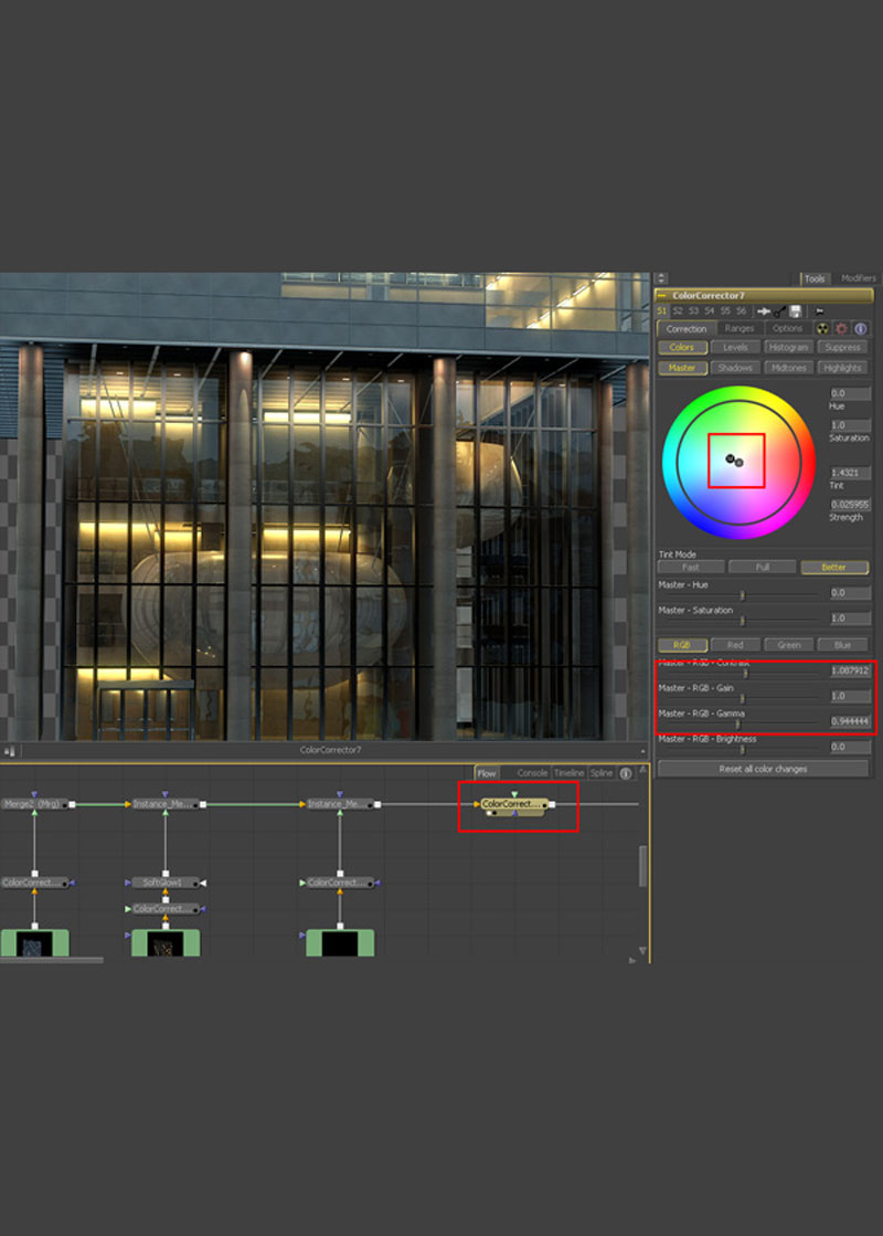 3dmax fusion post workflow35 - نگاهی جامع از 3dmax گرفته تا Fusion Post Workflow