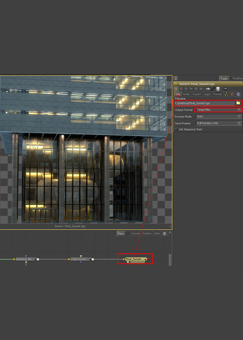 3dmax fusion post workflow36 - نگاهی جامع از 3dmax گرفته تا Fusion Post Workflow