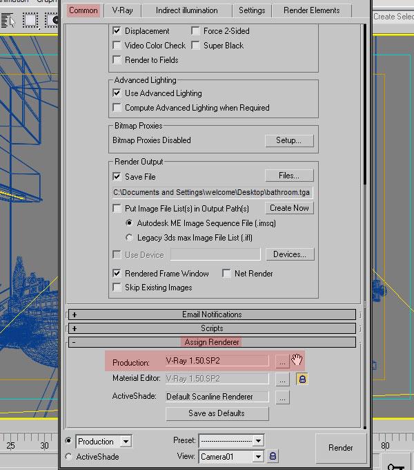 3dmax interior lighting rendering3 - دست یابی به نتایج واقع بینانه برای روشنایی داخلی و رندر کردن با استفاده از 3Ds Max و V-Ray