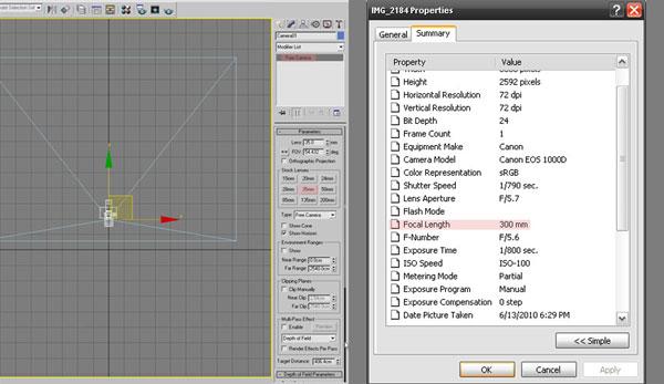 3dmax modeling photography22 - مدل سازی از مرجع عکاسی در 3Ds Max