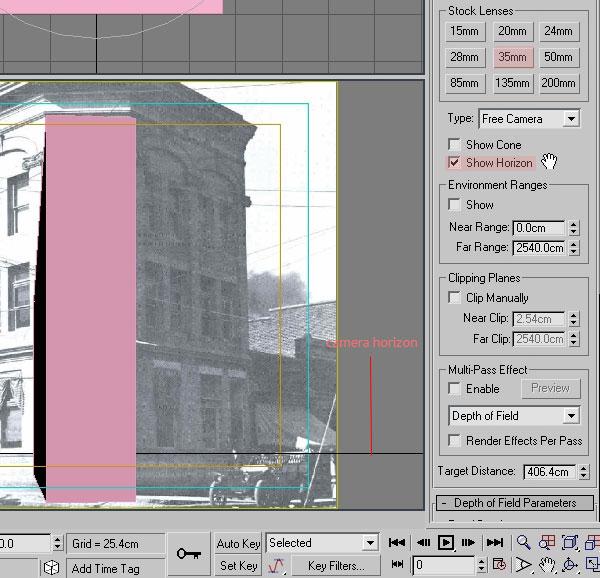 3dmax modeling photography26 - مدل سازی از مرجع عکاسی در 3Ds Max