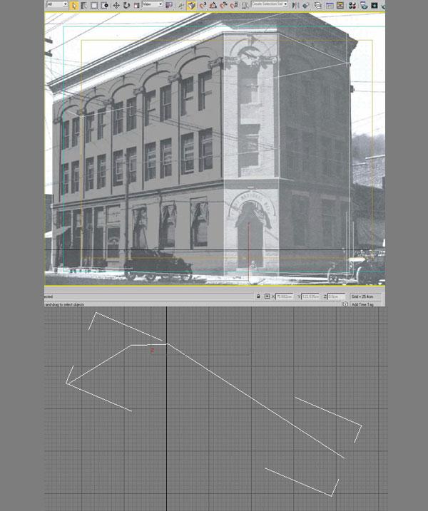 3dmax modeling photography28 - مدل سازی از مرجع عکاسی در 3Ds Max