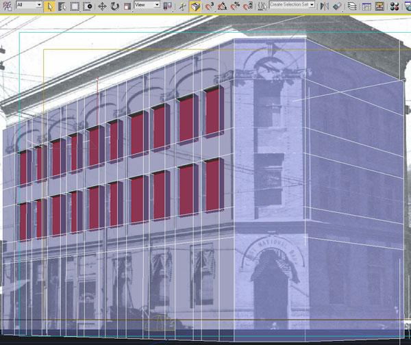3dmax modeling photography30 - مدل سازی از مرجع عکاسی در 3Ds Max