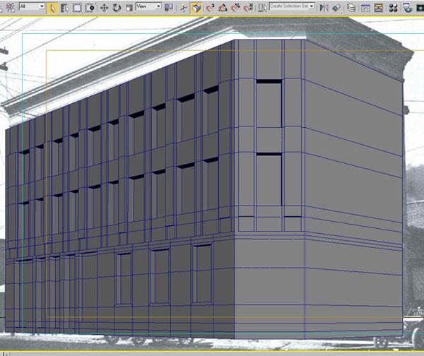 3dmax modeling photography31 - مدل سازی از مرجع عکاسی در 3Ds Max