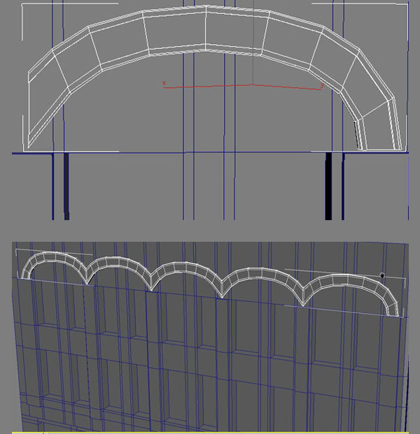 3dmax modeling photography32 - مدل سازی از مرجع عکاسی در 3Ds Max