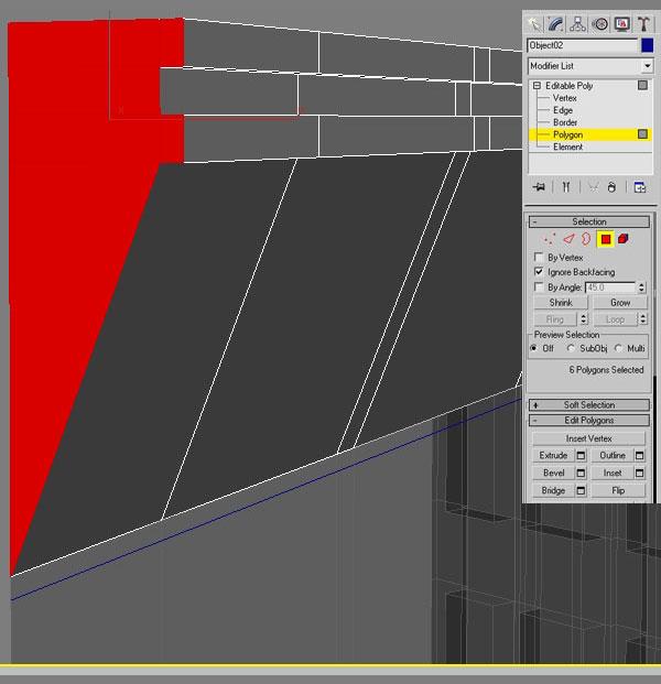 3dmax modeling photography34 - مدل سازی از مرجع عکاسی در 3Ds Max