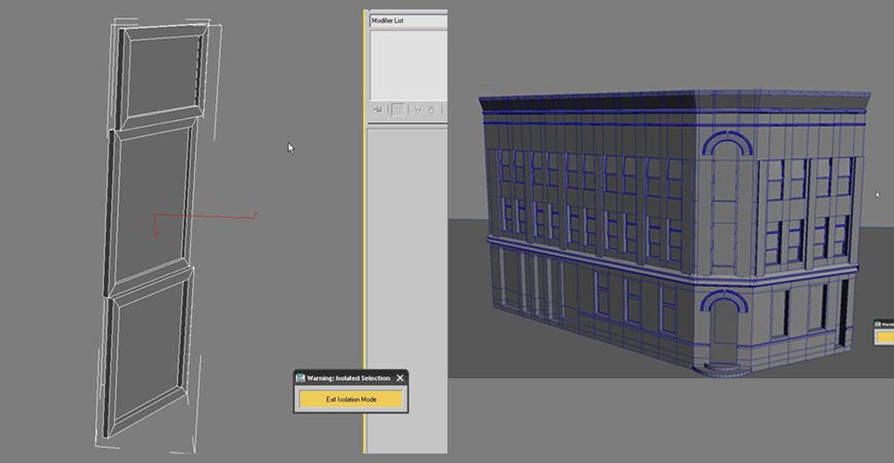 3dmax modeling photography36 - مدل سازی از مرجع عکاسی در 3Ds Max