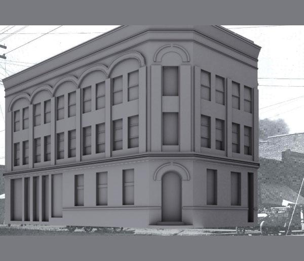 3dmax modeling photography38 - مدل سازی از مرجع عکاسی در 3Ds Max