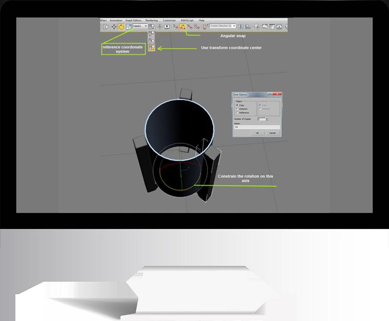 3dmax rendering modeling21 - مدل سازی و رندر محیط داخلی با استفاده از 3ds Max و Vray