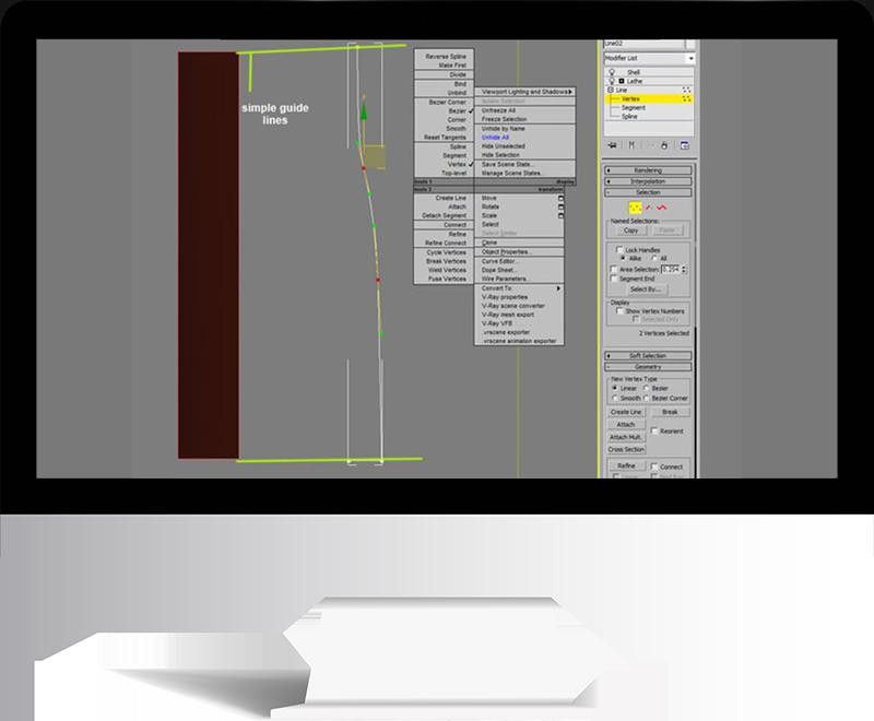 3dmax rendering modeling22 - مدل سازی و رندر محیط داخلی با استفاده از 3ds Max و Vray