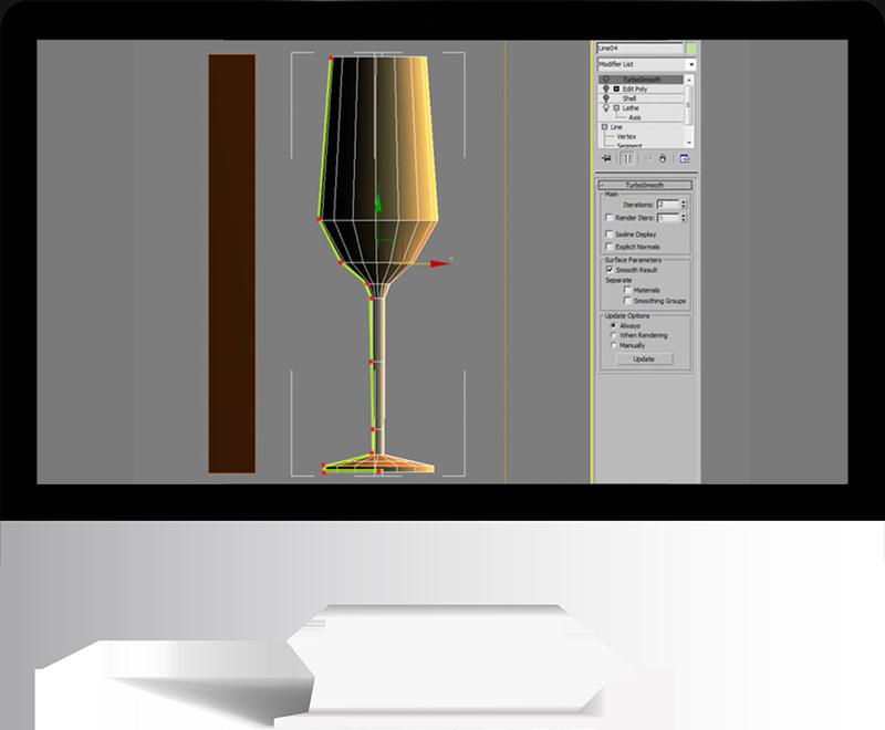 3dmax rendering modeling24 - مدل سازی و رندر محیط داخلی با استفاده از 3ds Max و Vray