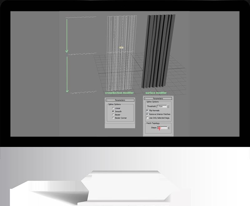 3dmax rendering modeling32 - مدل سازی و رندر محیط داخلی با استفاده از 3ds Max و Vray
