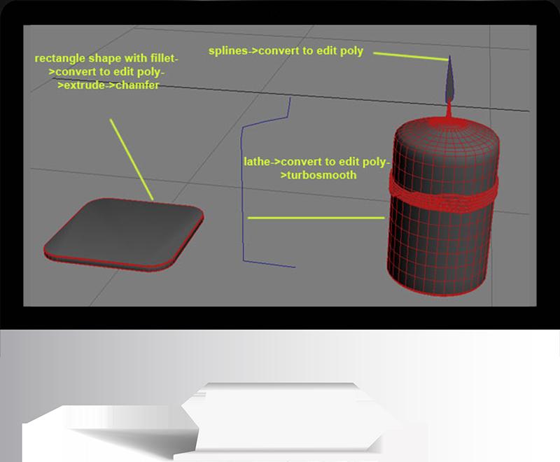 3dmax rendering modeling39 - مدل سازی و رندر محیط داخلی با استفاده از 3ds Max و Vray
