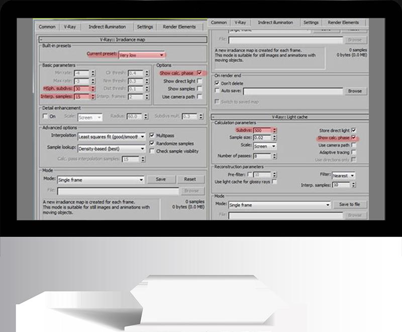 3dmax rendering modeling42 - مدل سازی و رندر محیط داخلی با استفاده از 3ds Max و Vray